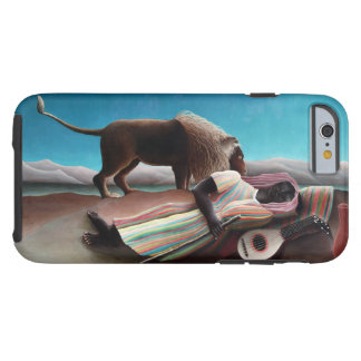 Henri Rousseau The Sleeping Gypsy Vintage Tough iPhone 6 Case