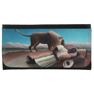 Henri Rousseau The Sleeping Gypsy Vintage Wallets