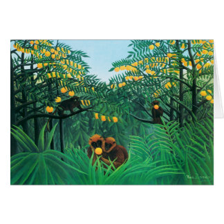 Henri Rousseau The Tropics Card