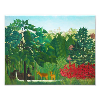 Henri Rousseau The Waterfall Photo Print