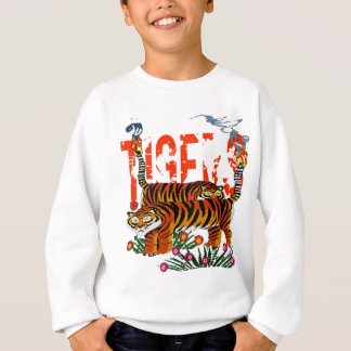 Henri Rousseau tigers Sweatshirt