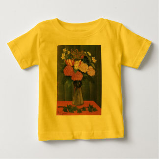 Henri Rousseau's Flowers in a Vase (1909) Baby T-Shirt
