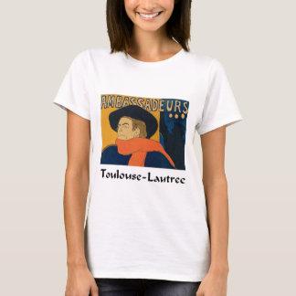 Henri Toulouse Lautrec - Aristide Bruant (Detail) T-Shirt