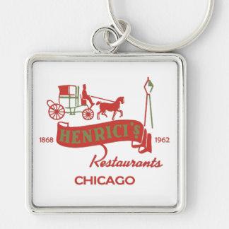 Henrici's Restaurant, Chicago, IL 1868-1962 Keychain