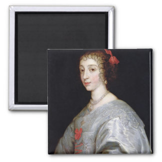 Henrietta-Maria of France Square Magnet