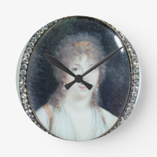 Henriette Lucy Dillon (1770-1853) Marquise de la T Wall Clock