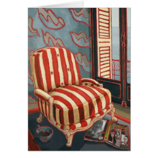 'Henris Chair' Art Card