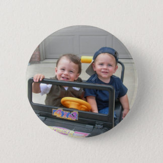 Henry and Eli 2 Inch Round Button