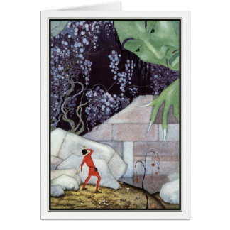 Henry and the Giant by Virginia Frances Sterrett Card