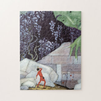 Henry and the Giant by Virginia Frances Sterrett Jigsaw Puzzle
