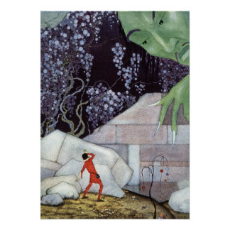 Henry and the Giant by Virginia Frances Sterrett Poster