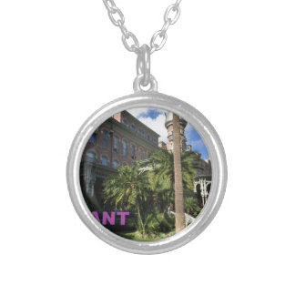 Henry B. Plant Museum Silver Plated Necklace