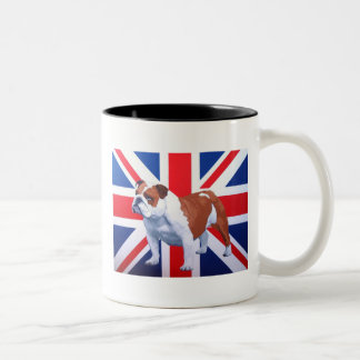 Henry British Bulldog Two-Tone Coffee Mug