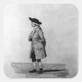 Henry Cavendish, F.R.S. , 19th c. Square Sticker