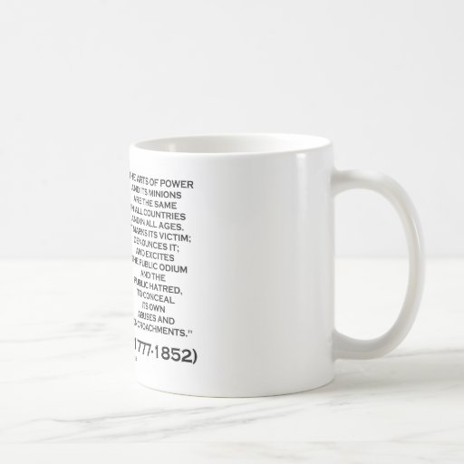 Henry Clay Arts Of Power Its Minions Same Quote Mug