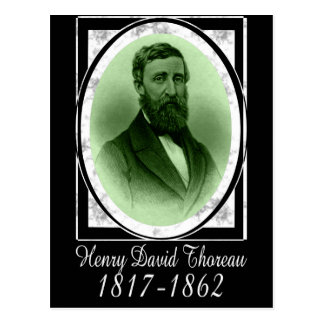Henry David Thoreau Carte Postale
