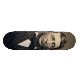 Henry David Thoreau Portrait Maxham daguerreotype Skate Boards