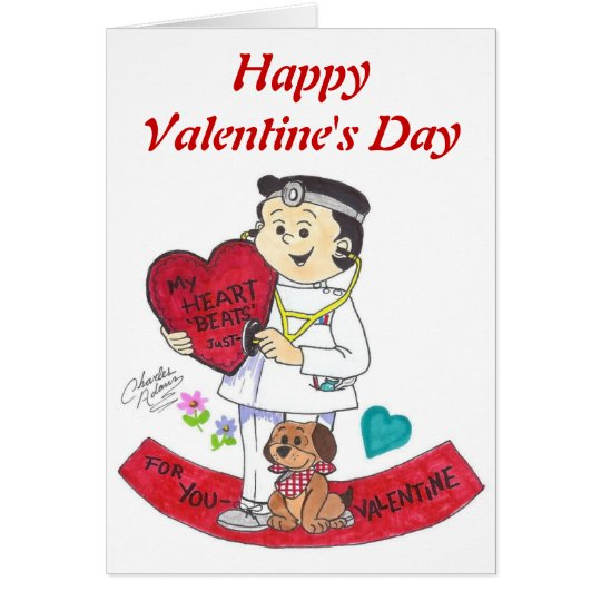 Henry doctor valentine, HappyValentine's Day Card