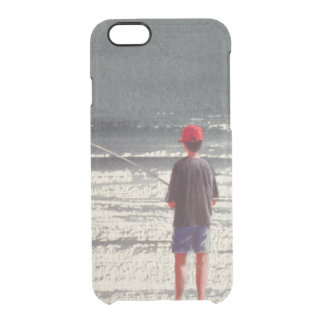 Henry Fishing Alps 1990 Clear iPhone 6/6S Case