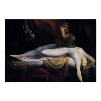 Henry Fuseli - The Nightmare Poster