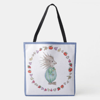 Henry Hedgehog Baby Tote Bag