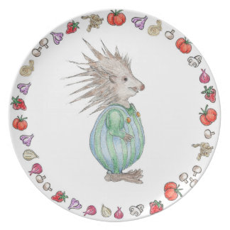 Henry Hedgehog Melamine Birthday Plate