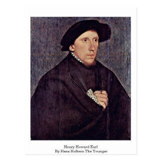 Henry Howard Earl By Hans Holbein The Younger Postcard