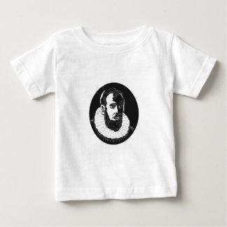 Henry Hudson Explorer Woodcut Baby T-Shirt