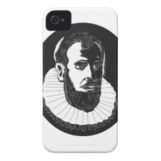 Henry Hudson Explorer Woodcut Case-Mate iPhone 4 Cases