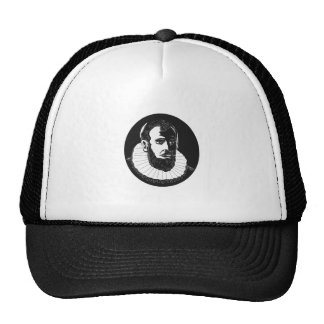 Henry Hudson Explorer Woodcut Trucker Hat