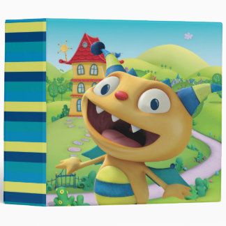 Henry Hugglemonster 2 3 Ring Binder