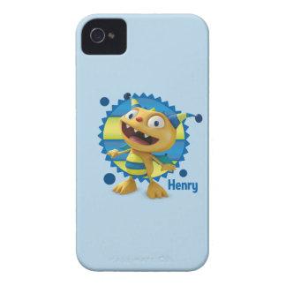 Henry Hugglemonster 3 iPhone 4 Case-Mate Cases