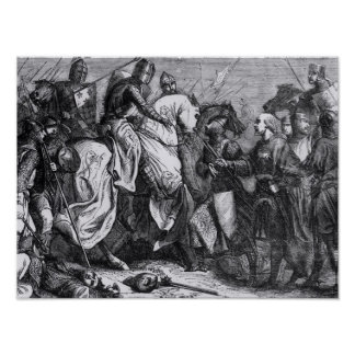 Henry III  at the Battle of Lewes, 14th May 1264 Poster