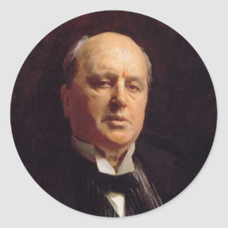 Henry James Stickers