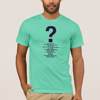 HENRY MILLER -Quote -T-Shirt T-Shirt