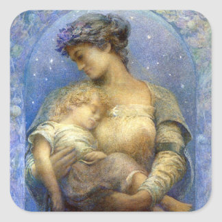 Henry Raymond Thompson: O Holy Night Square Sticker