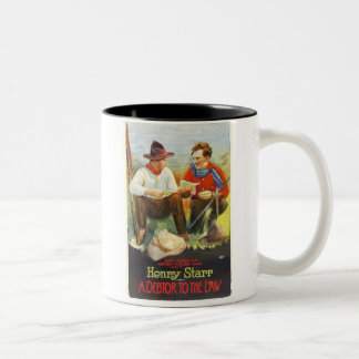 Henry Starr Debtor to the Law 1919 movie poster Two-Tone Coffee Mug