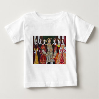Henry The Eighth and His Six Wives Baby T-Shirt