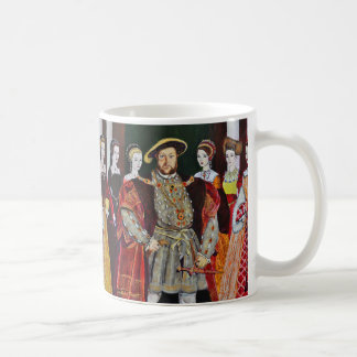 Henry The Eighth and His Six Wives Coffee Mug