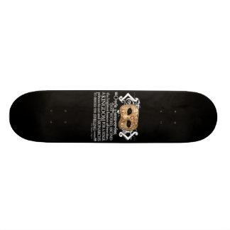 Henry V Quote Skate Deck