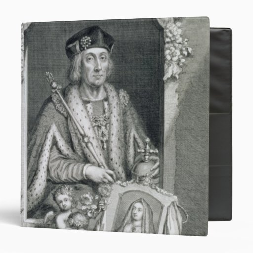 Henry VII (1457-1509) King of England from 1485, a 3 Ring Binder