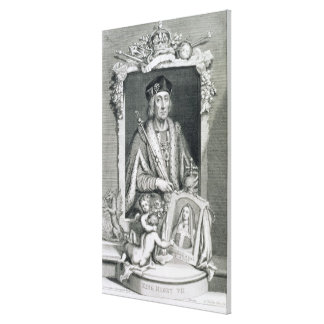 Henry VII (1457-1509) King of England from 1485, a Stretched Canvas Print