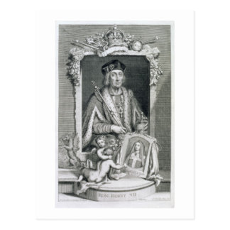 Henry VII (1457-1509) King of England from 1485, a Postcard