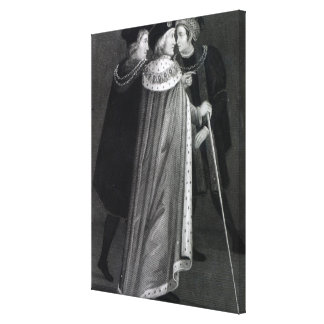 Henry VII Stretched Canvas Print
