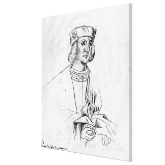 Henry VII  king of England Gallery Wrap Canvas