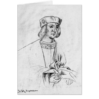 Henry VII  king of England Greeting Card