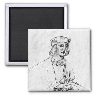 Henry VII  king of England Fridge Magnet
