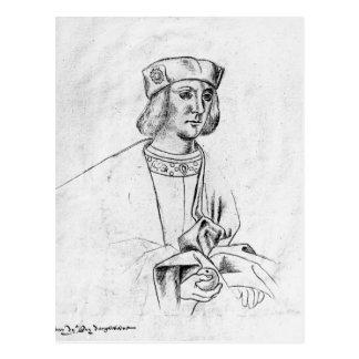 Henry VII king of England Postcard