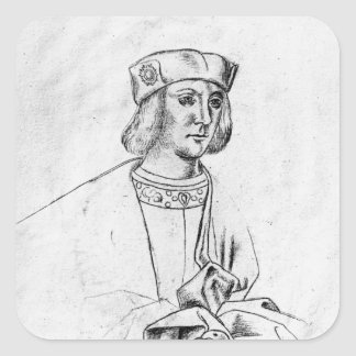 Henry VII  king of England Square Sticker