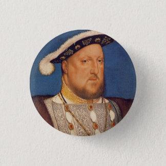 Henry VIII 1 Inch Round Button